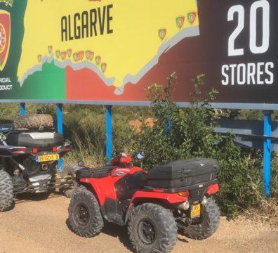 Touren in de Algarve, mogelijk met meerdere soorten voertuigen